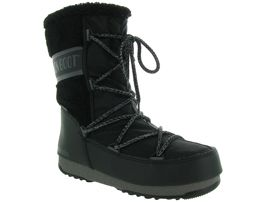MOON BOOT MB MONACO WOOL MID WP<br>Noir