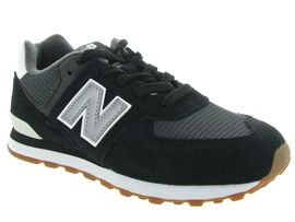 EVELYN PC574:Nubuck/Noir/Noir