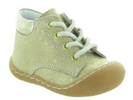 STONE ONE KNIT ECRI:Cuir laminé/Beige/Or