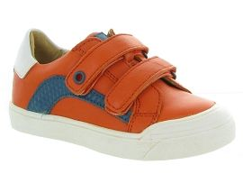 MALTE 5324:Cuir lisse/Orange/Orange