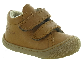 NATURINO & FALCOTTO COCOON BOY VELCRO FOURRE<br>Marron