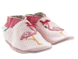 WALLY SOX PINK FLAMINGO:Cuir lisse/Rose/Rose