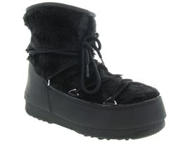 MOON BOOT MB MONACO LOW FUR<br>Noir