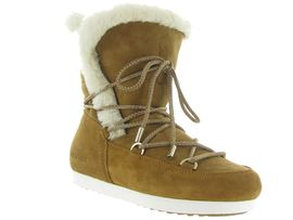 MOON BOOT MB FAR SIDE HIGH SHEARLING<br>Camel