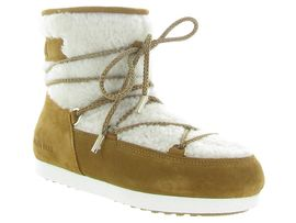 6176 MB FAR SIDE LOW SHEARLING:Mouton/Marron/Camel