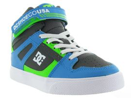 DC SHOES ADBS300324 PURE HIGH TOP EV<br>Turquoise