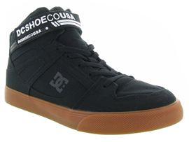 DC SHOES ADBS300338 PURE HIGH TOP TX SE<br>Noir