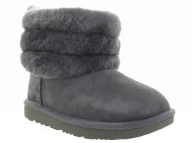 UGG AUSTRALIA FLUFF MINI QUILTED<br>Gris