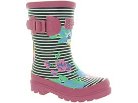 TOM JOULES JNR GIRLS WELLY<br>Fleurs