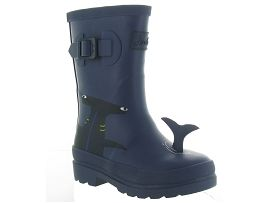 JNR BOYS WELLY<br>Caoutchouc Bleu Marine