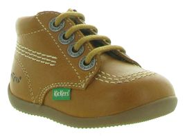KICKERS BILLYZIP<br>Marron