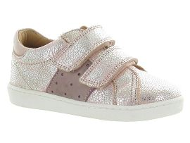 MINI BAILEY BOW 5062 KADI:Cuir laminé/Rose/Rose