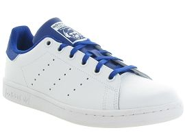 NEW YORK STAN SMITH:Cuir lisse/Bleu/Bleu royal