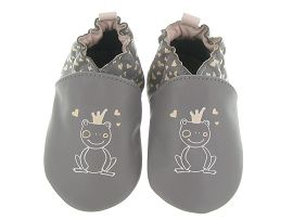 J0444A ANDROID PRINCESS FROG:Cuir lisse/Gris/Gris