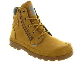 PALLADIUM HI CUFF WP JUNIOR<br>Jaune