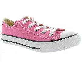 ESSENTIAL LEATHER CUPSOLE CTAS KIDS OX:Toile/Rose/Fushia