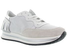 RACE CAR ELOHA MIX:Cuir lisse/Blanc/Blanc