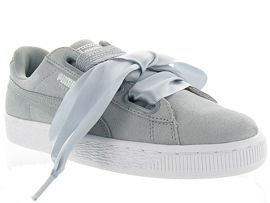 BASKET HEART SAFARI<br>Nubuck Gris Gris