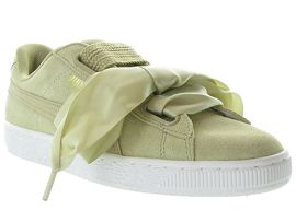 BASKET HEART SAFARI<br>Nubuck Beige
