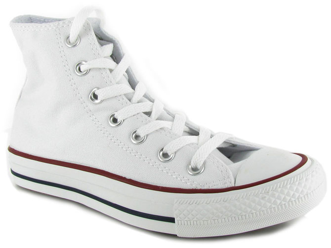 Converse baskets et sneakers ctas hi canvas femme blanc
