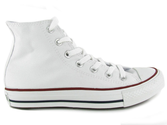 Converse baskets et sneakers ctas hi canvas femme blanc1027202_2