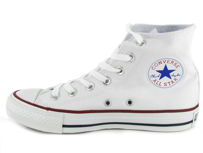 Converse baskets et sneakers ctas hi canvas femme blanc1027202_4