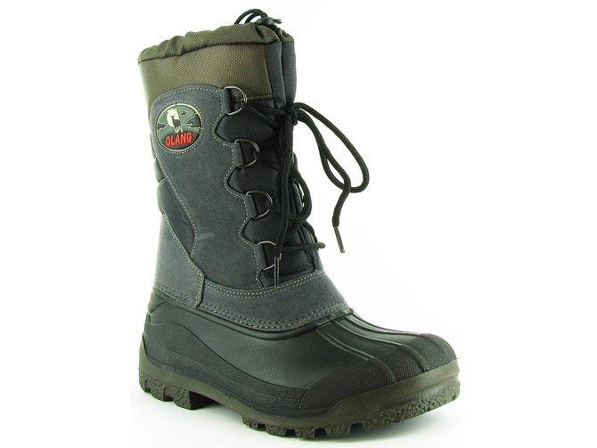Olang apres ski bottes fourrees canadian anthracite