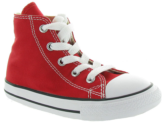 Converse baskets et sneakers ctas core hi rouge