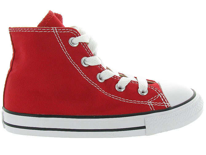 Converse baskets et sneakers ctas core hi rouge1055802_2