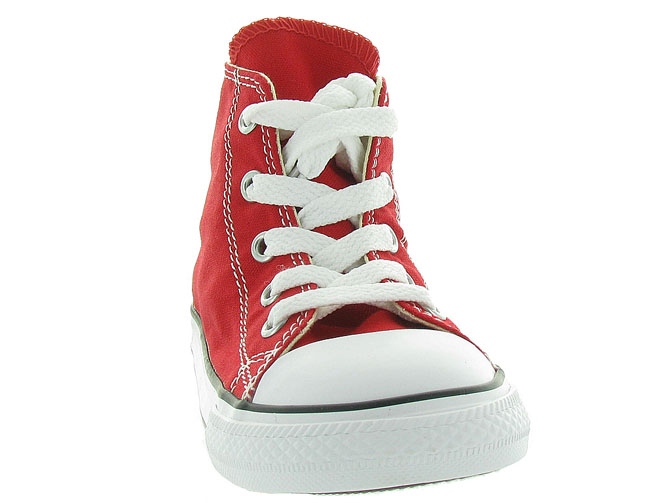 Converse baskets et sneakers ctas core hi rouge1055802_3