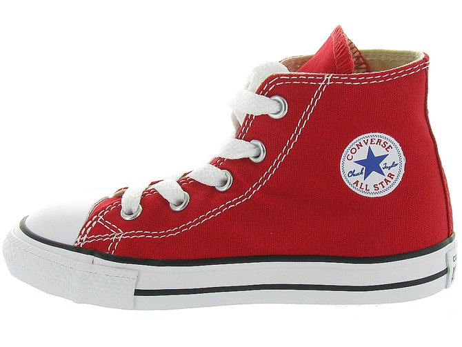 Converse baskets et sneakers ctas core hi rouge1055802_4