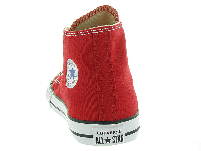 Converse baskets et sneakers ctas core hi rouge1055802_5