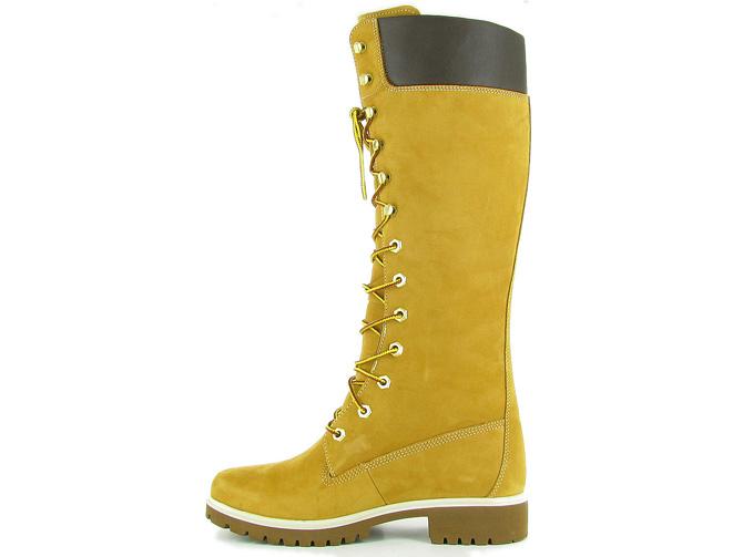botte femme timberland jaune