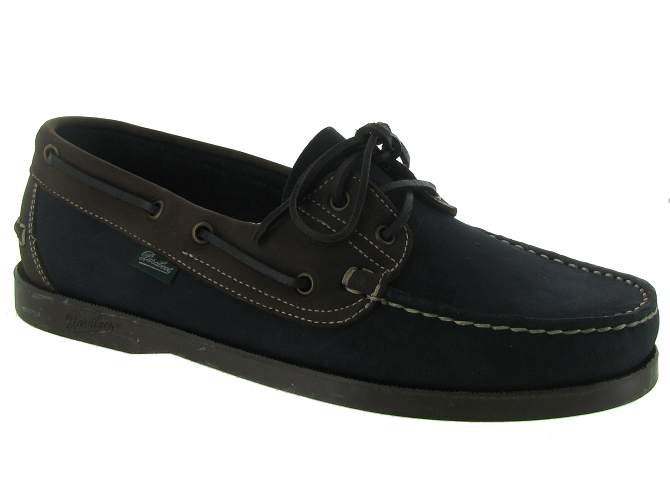Paraboot chaussures a lacets barth pe14 marine