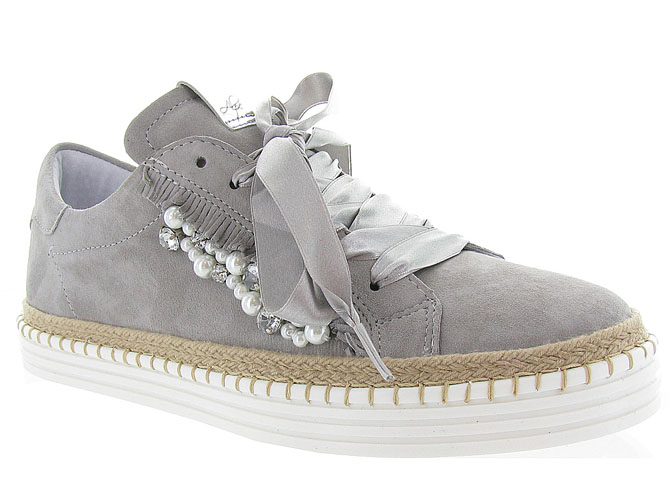 Alpe chaussures a lacets 3539 gris