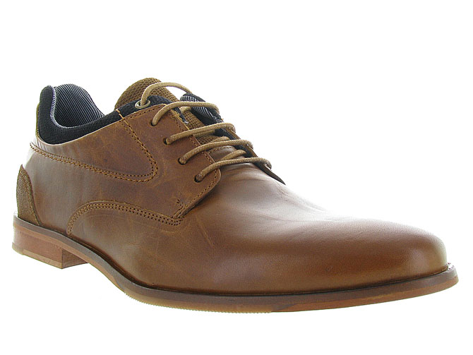 Bullboxer chaussures a lacets 6716a gold