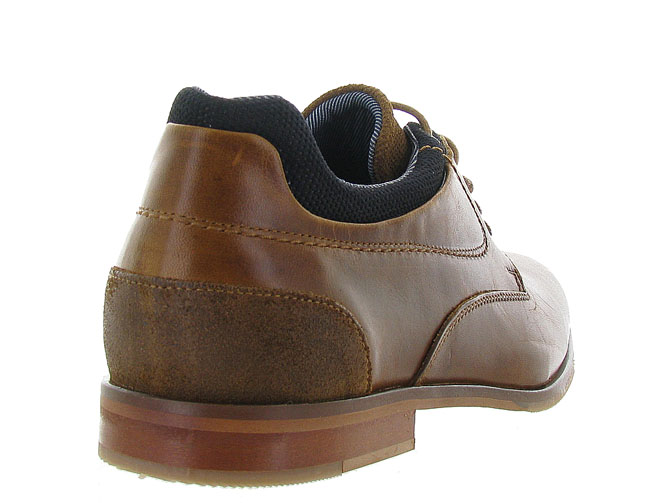 Bullboxer chaussures a lacets 6716a gold3161001_5