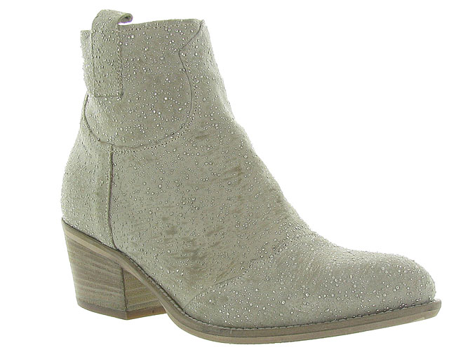 Piranha bottines et boots 331 beige