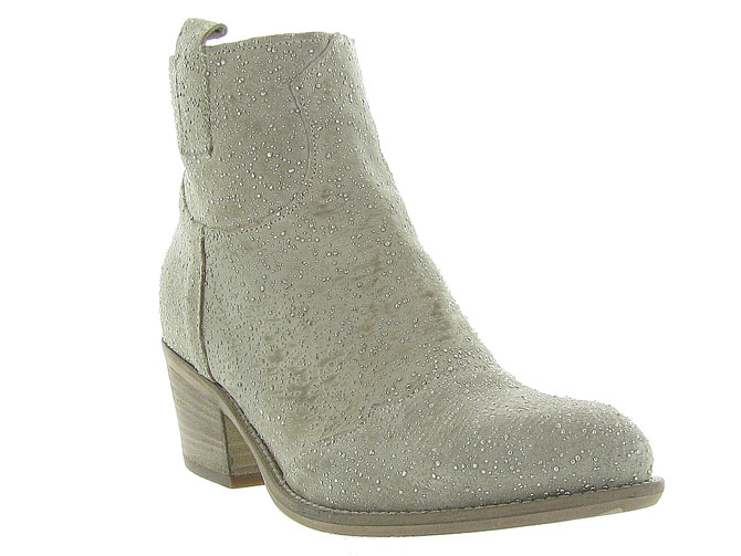 Piranha bottines et boots 331 beige3163102_3