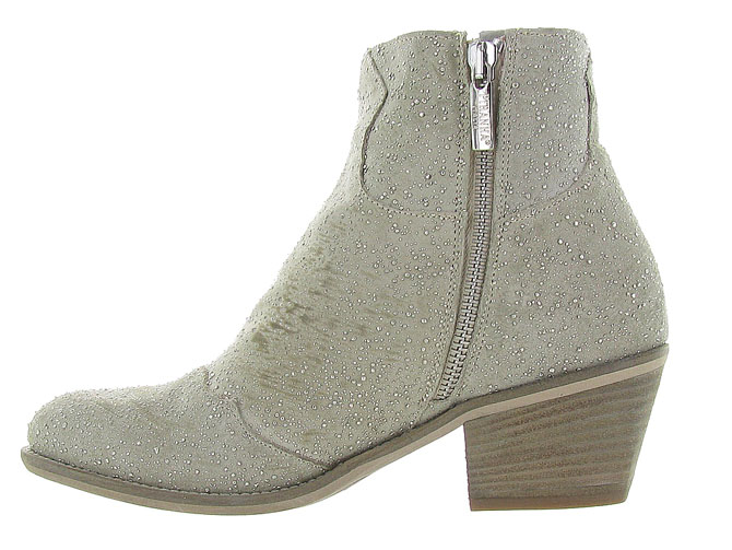 Piranha bottines et boots 331 beige3163102_4