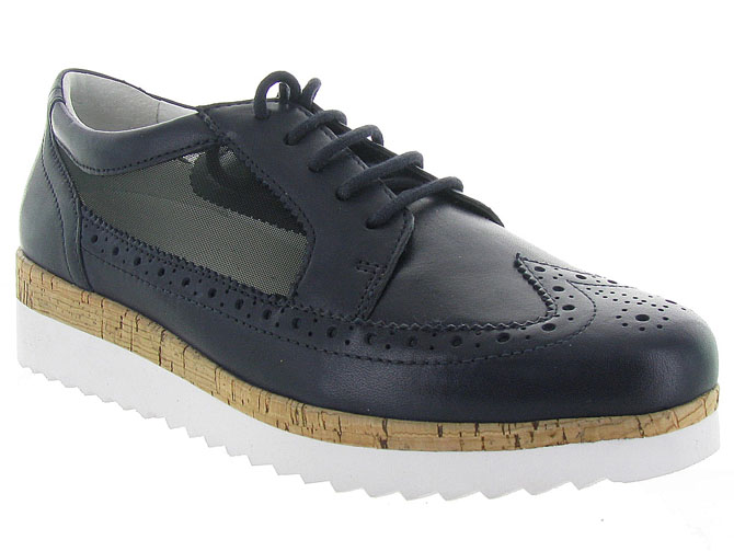 Gabor chaussures a lacets 82.545 marine