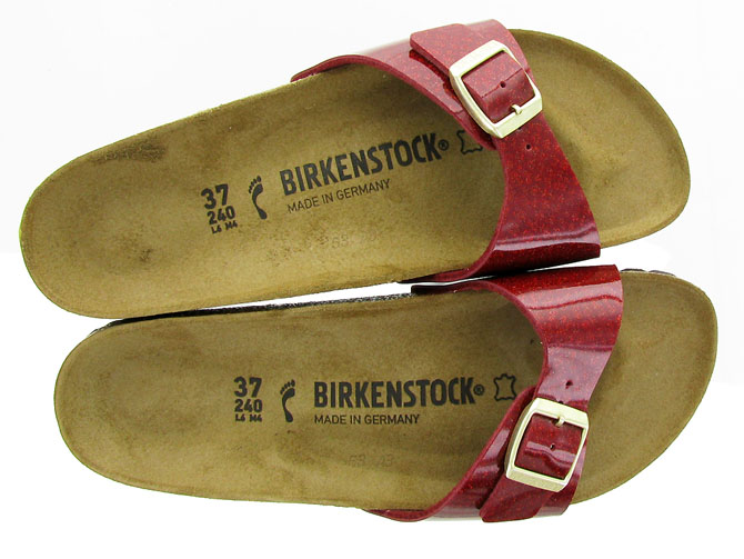 Birkenstock nu pieds madrid magic snake bordeaux3169803_2