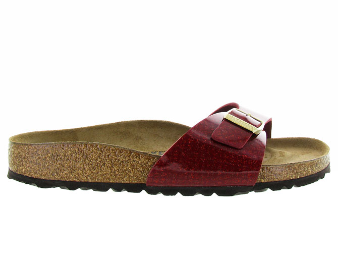 Birkenstock nu pieds madrid magic snake bordeaux3169803_3