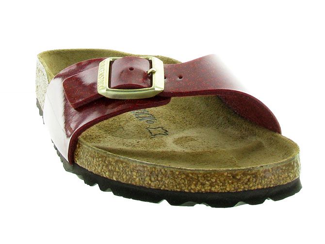 Birkenstock nu pieds madrid magic snake bordeaux3169803_4