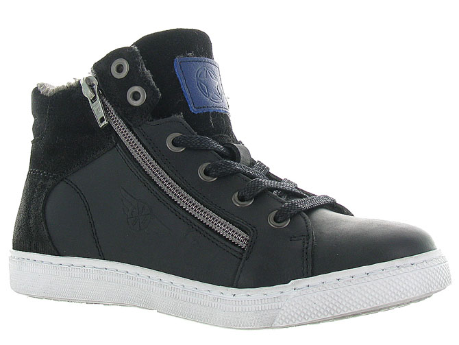 Bullboxer baskets et sneakers agm525 noir
