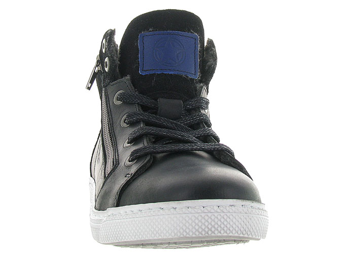 Bullboxer baskets et sneakers agm525 noir3182602_3
