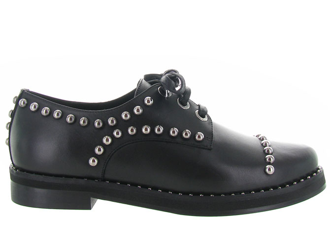Angelo bervicato chaussures a lacets b3025 noir3185401_2