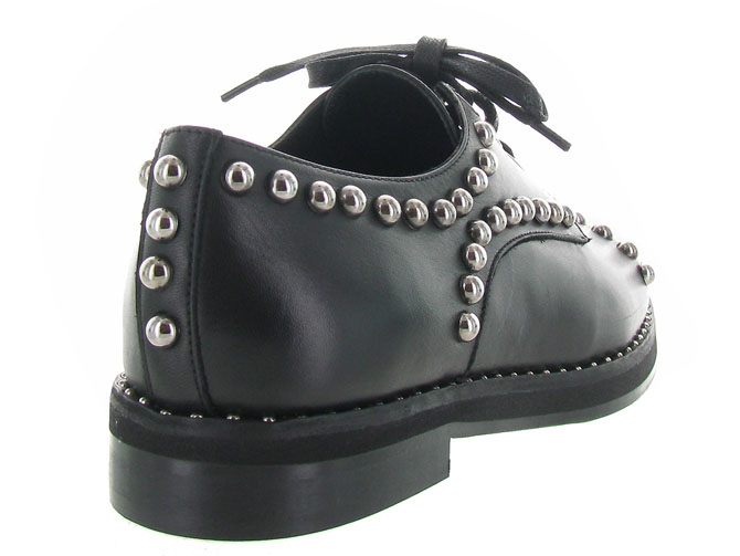 Angelo bervicato chaussures a lacets b3025 noir3185401_5