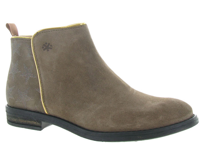 Acebos bottines et boots 9514 taupe