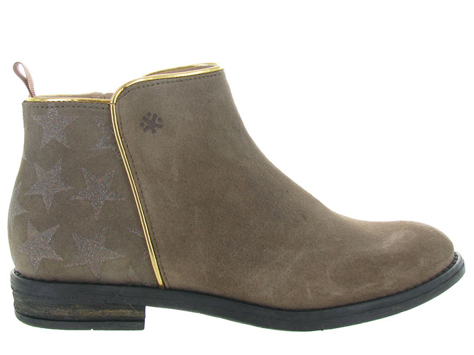 Acebos bottines et boots 9514 taupe3208503_2